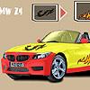 BMW Z4 araba boyama oyunu