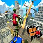 BMX Rider Impossible Stunt Racing Bicycle Stunt game