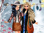 Boho Winter with Princess game