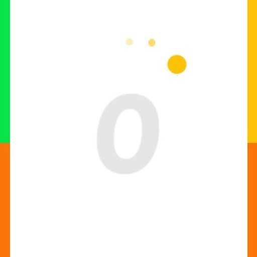 Скача цвят топка игра