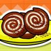 Sušienky arašidové zmrzlina Roll hra