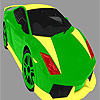Bright colorful car coloring game