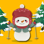 Break A Hóember Xmas játék