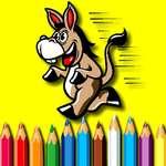 BTS Donkey Coloring Book jeu