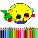 BTS Fruits Coloring Book jeu