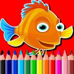 BTS Fish Coloring Book gioco