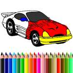 BTS Muscle Car Coloring game