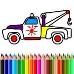 BTS Trucks Coloring game