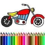 BTS Motorbike Coloring game