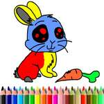 BTS Rabbit Coloring Book game