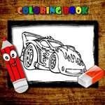 игра BTS Автомобили Раскраска Книга