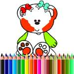 BTS Sweet Bear colorat joc