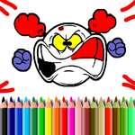 Coloración emoji BTS juego