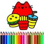 BTS süße Katzen Färbung Spiel