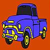 Bina kamyon boyama oyunu