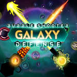 Bubble Shooter Galaxy Verdediging spel