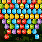 Bubble Shooter Pasen spel