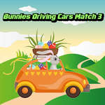 Bunnies Driving Cars Match 3 game
