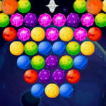 Bubble Shooter Planeten spel