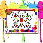 Butterfly Coloring Book game