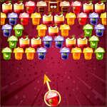 Bubble Shooter Puddings Spiel