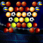 Bubble Shooter Golden Football game