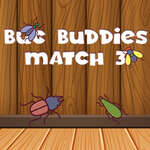 Bug Buddies Match 3 game