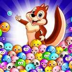Bubble Shooter Pet Match spel