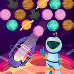 Buborékbolygók játék