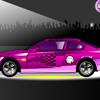 Autó díszítő játék