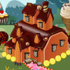Sladkosti dom dekorácie hra
