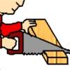 Дърводелци Изрежи игра