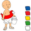 Caillou Paint game