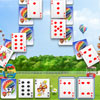 Attraction de carte Solitaire jeu