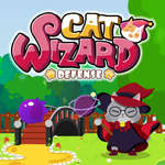 Cat Wizard Defense Spiel