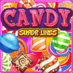 Candy Super Lines game
