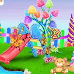 Candy Garden Cleaning game