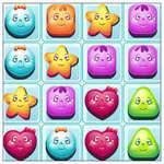 Бонбони блокове срутване игра