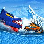 Car Eats Car Winter Adventure game