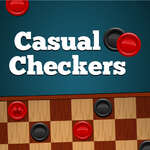 Casual Checkers game