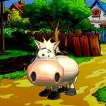 Cartoon Tiere Unterschiede Spiel