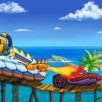 Кола яде кола море приключение игра