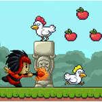 Capturer les poulets jeu