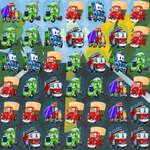 Çizgi Film Kamyonları Maç 3 oyunu