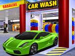 Simulateur de station d'essence de lavage de voiture jeu