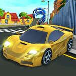 Cartoon Stunt Car game
