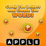 Atrapa las letras y crea las palabras juego