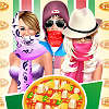 Celebrity exclusieve Pizza Stand spel