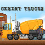 Cement Trucks Hidden Objects game