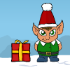 Weihnachten-Rettung Spiel